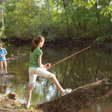 Getting kids 'hooked' on fishing