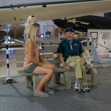 WWII Veteran Shares Tales of the Storied Aircraft Carrier