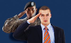 Citadel salute to suit image