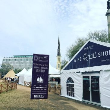 For Wine Lovers, this Retail Tent is a Must in the Culinary Village